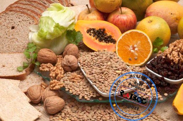 صادرات انواع مواد غذایی