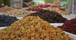 صادرات کشمش ایرانی